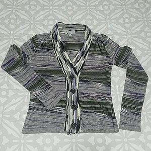 Missoni Purple Sweater/Cardigan Size 4/Small